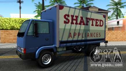GTA IV Maibatsu Mule with GTA SA Ads for GTA San Andreas