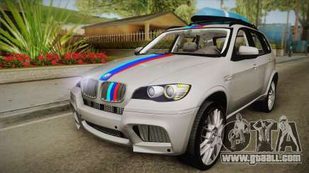 BMW X5M 2012 Special for GTA San Andreas