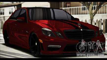 Mercedes-Benz E63 (W212) AMG 2010 for GTA San Andreas