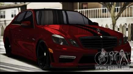 Mercedes-Benz E63 (W212) AMG 2010 for GTA San Andreas