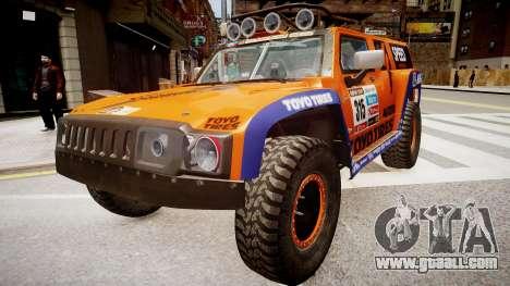 Hummer H3 Robby Gordon 2013 for GTA 4