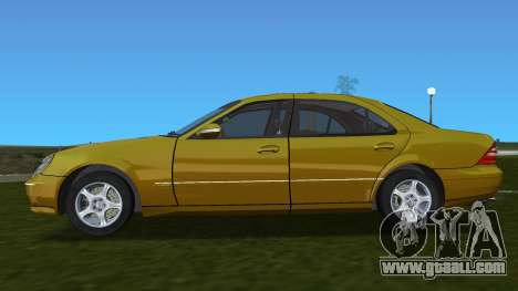 Mercedes-Benz S600 W220 for GTA Vice City left view