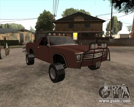 Picador 4x4 for GTA San Andreas back left view