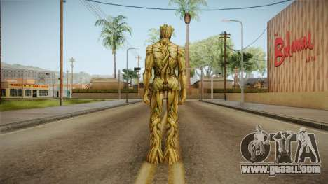 Marvel Future Fight - Groot for GTA San Andreas third screenshot