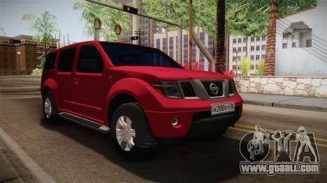 Nissan Pathfinder for GTA San Andreas