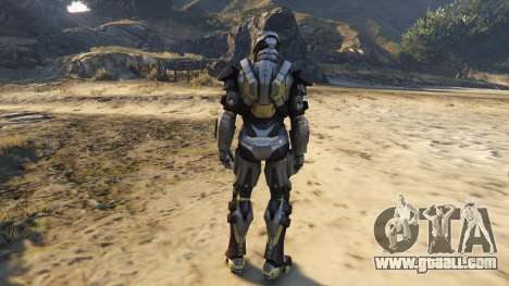 GTA 5 Iron Man Mark 24 Tank third screenshot