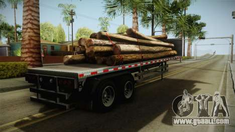GTA 5 Log Trailer v2 for GTA San Andreas