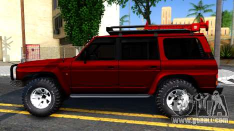 Nissan Patrol Y60 Off-road for GTA San Andreas left view