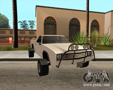 Picador 4x4 for GTA San Andreas right view