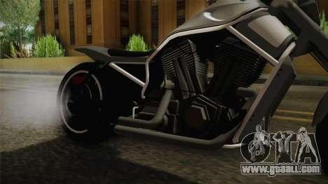 GTA 5 Western Nightblade for GTA San Andreas inner view