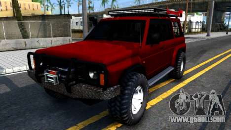 Nissan Patrol Y60 Off-road for GTA San Andreas