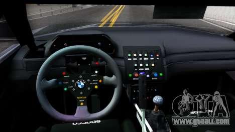 Str1keZs Cheetah for GTA San Andreas inner view