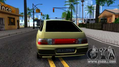 VAZ 2112 for GTA San Andreas back left view