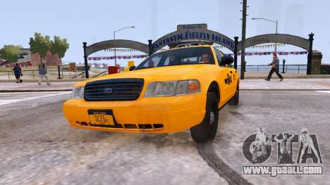 Taxi Nyc for GTA 4