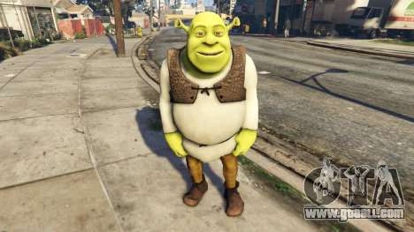 GTA 5 Shrek 1.0