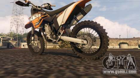 GTA 5 KTM EXC 530 2010 right side view