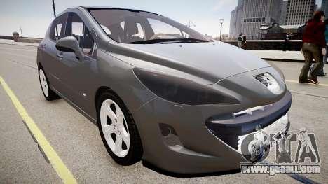 Peugeot 308 GTi 2011 for GTA 4