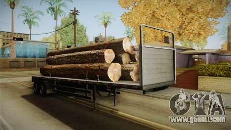 GTA 5 Log Trailer v1 for GTA San Andreas