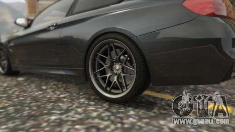 GTA 5 BMW M4 F82 2015 rear right side view