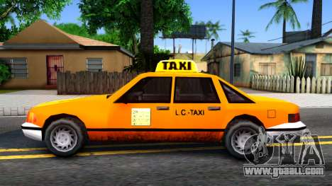 Taxi From LCS for GTA San Andreas left view