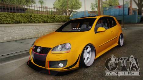 Volkswagen Golf 5 Stance for GTA San Andreas
