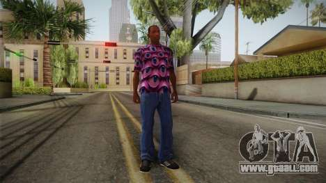 Psychedelic T-Shirt for GTA San Andreas