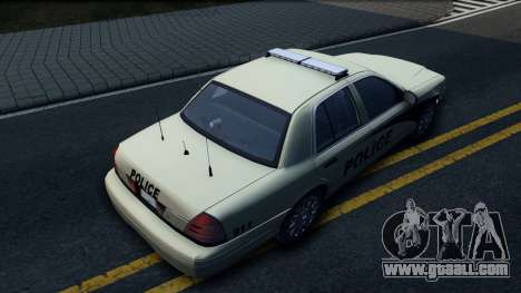 Ford Crown Victoria Generic 2010 for GTA San Andreas back view