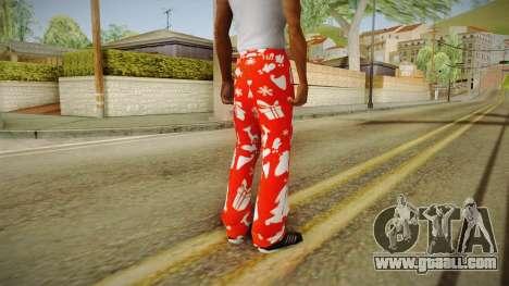 Christmas tights for GTA San Andreas second screenshot