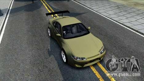 Nissan Silvia S15 Rocket Bunny for GTA San Andreas right view