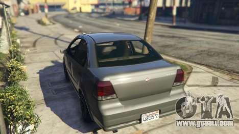 GTA 5 Asea V8 Mod rear left side view