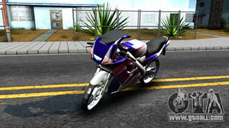 Yamaha TZM 150 for GTA San Andreas left view
