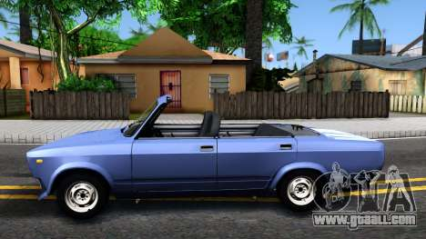 VAZ 2105 V2 convertible for GTA San Andreas left view