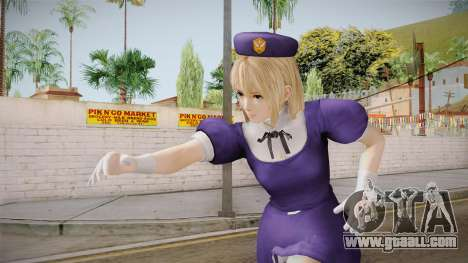 DoA 5 Marie Rose KOF DLC - Hinako Outfit for GTA San Andreas