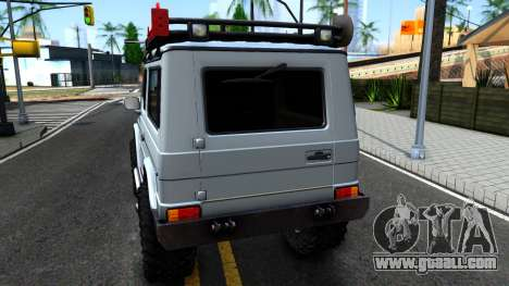 Mercedes-Benz G500 Off-Road Short for GTA San Andreas back left view