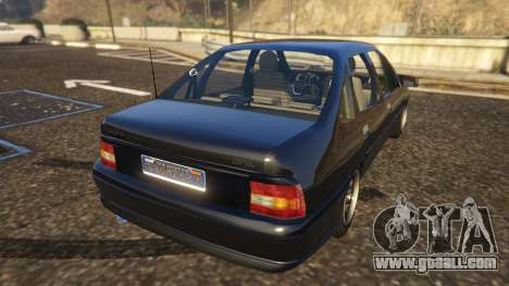 GTA 5 Opel Vectra A rear left side view
