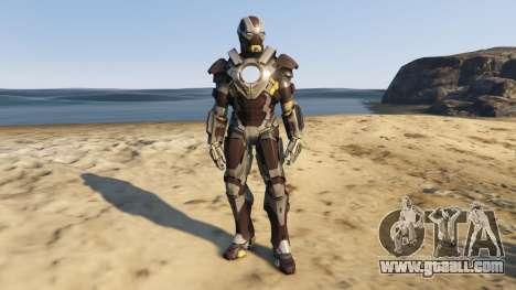 GTA 5 Iron Man Mark 24 Tank