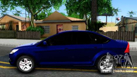 Ford Focus Sedan 2009 IVF for GTA San Andreas left view