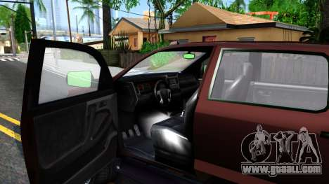 GTA V Vapid Contender for GTA San Andreas inner view