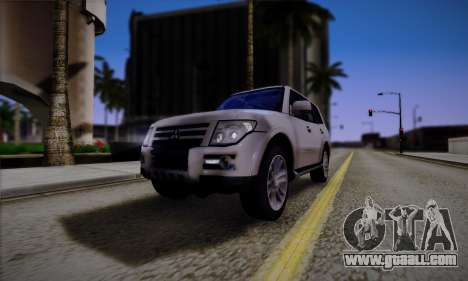 Mitsubishi Pajero IV 2015 for GTA San Andreas