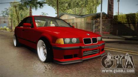 BMW 3 Series E36 Sedan for GTA San Andreas right view