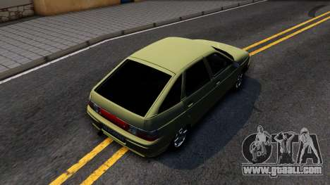 VAZ 2112 for GTA San Andreas back view
