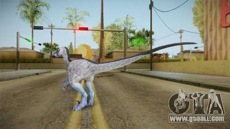 Primal Carnage Velociraptor Hypothermic for GTA San Andreas third screenshot