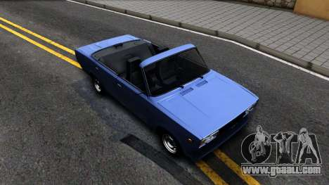 VAZ 2105 V2 convertible for GTA San Andreas right view