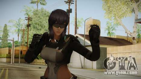Ghost In The Shell First Assault - Motoko v2 for GTA San Andreas