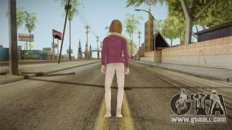 Life Is Strange - Max Caulfield Vortex Club v2 for GTA San Andreas