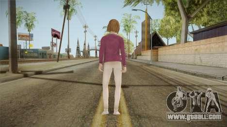 Life Is Strange - Max Caulfield Vortex Club v2 for GTA San Andreas third screenshot