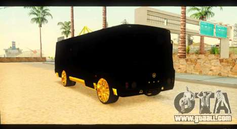 GROOVE 4234 Elite Gold for GTA San Andreas right view