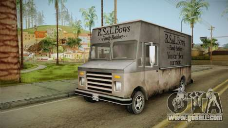 Boxville from Vice City for GTA San Andreas