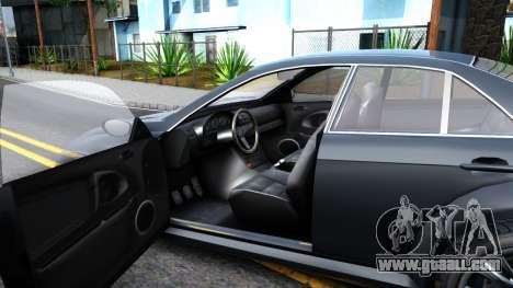 GTA V Ubermacth Sentinel Sedan for GTA San Andreas inner view