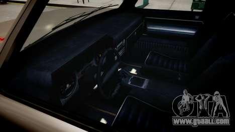 Bobcat Chevrolet for GTA 4 inner view